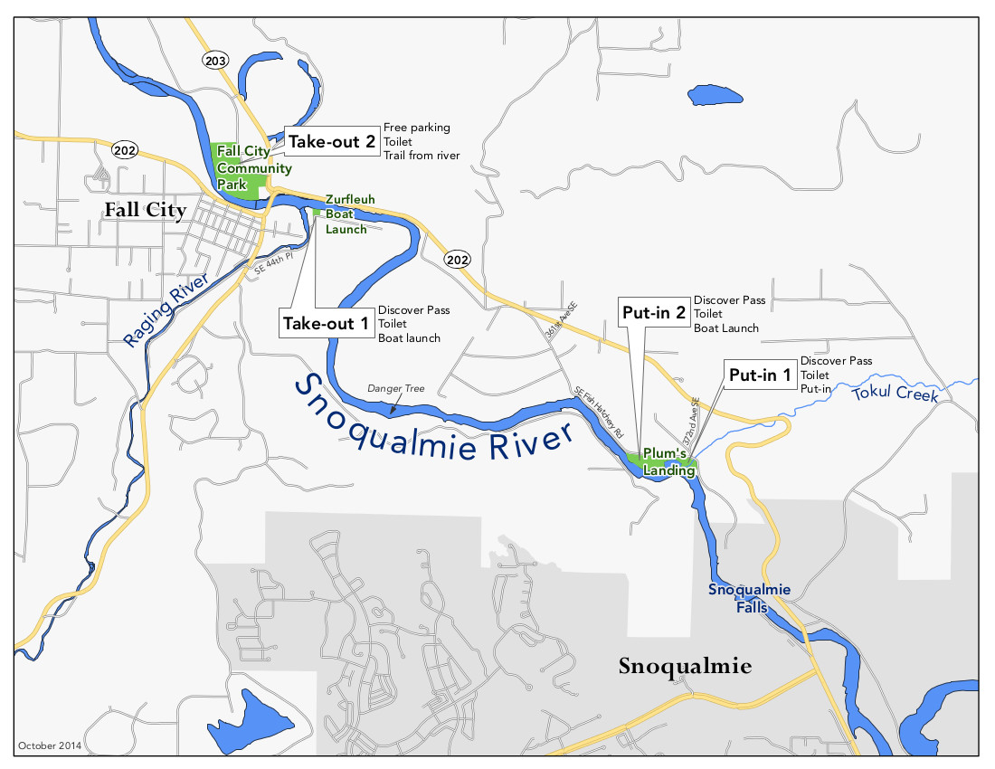 Entry and exit sites float snoqualmie for Snoqualmie river fishing